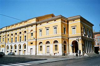 Teatro Comunale Alighieri opera house in Ravenna, Italy