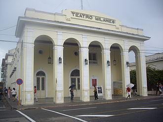 Pinar del Río - Image: Teatro Milanés Pinar del Rio
