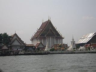 Thon Buri District Khet in Bangkok, Thailand