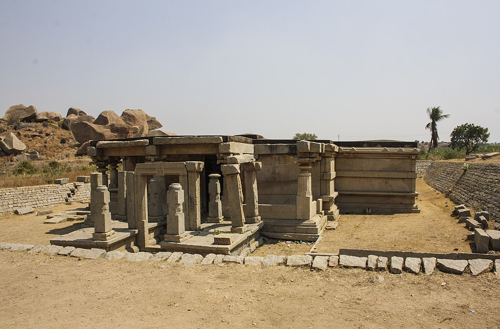 Temple in Hampi 01