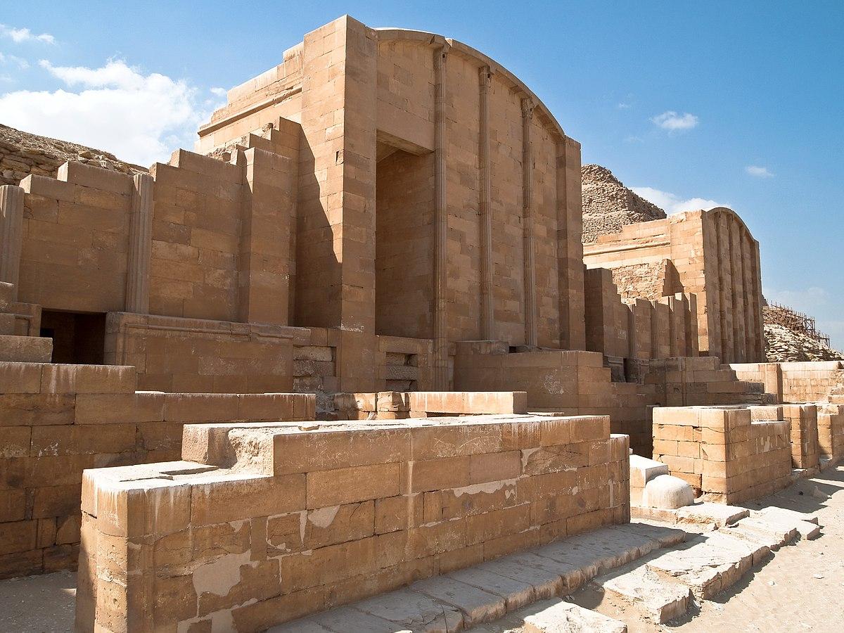 Templo De Zoser En Saqqara Dynasty Egypt Wikipedia