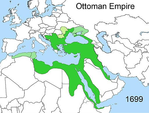 Territorial changes of the Ottoman Empire 1699