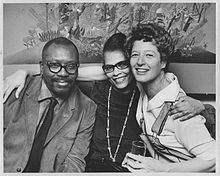 Terry Dintenfass with Jacob and Gwendolyn Lawrence.jpg