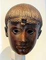 Testa di ragazzo, bronzo, età imperiale, da originali greci dello stile severo.JPG