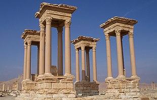 Il Tetrapylon di Palmira