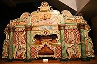 "Th. Mortier ""De Schuyt"" (1913) fairground organ, converted by Carl Frei in 1931, 2, Museum Speelklok.jpg"