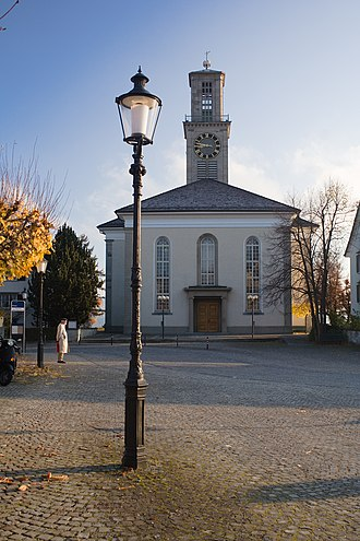 Thalwil - Protestant church