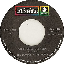 California Dreamin' (The Mamas and the Papas)