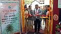 The Deputy Commissioner, Kamrup, Shri S. K. Roy inaugurating the Photo exhibition on Bharat Nirman put up by the DAVP, Guwahati, at the Public Information Campaign on Bharat Nirman, organized by the Press Information Bureau.jpg