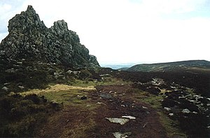 Stiperstones - Image: The Devil's Chair geograph.org.uk 1194214