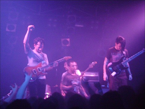 Mathcore band The Dillinger Escape Plan The Dillinger Escape Plan-23.jpg
