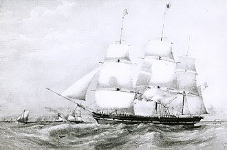 Black Ball Line (trans-Atlantic packet) - England, a packet ship of the Black Ball Line