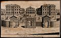 The Foundling Hospital, Holborn, London; a view of the court Wellcome V0013456.jpg