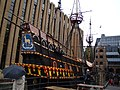 The Golden Hinde Reconstruction, Pickford's Wharf ^2 - geograph.org.uk - 2151543.jpg