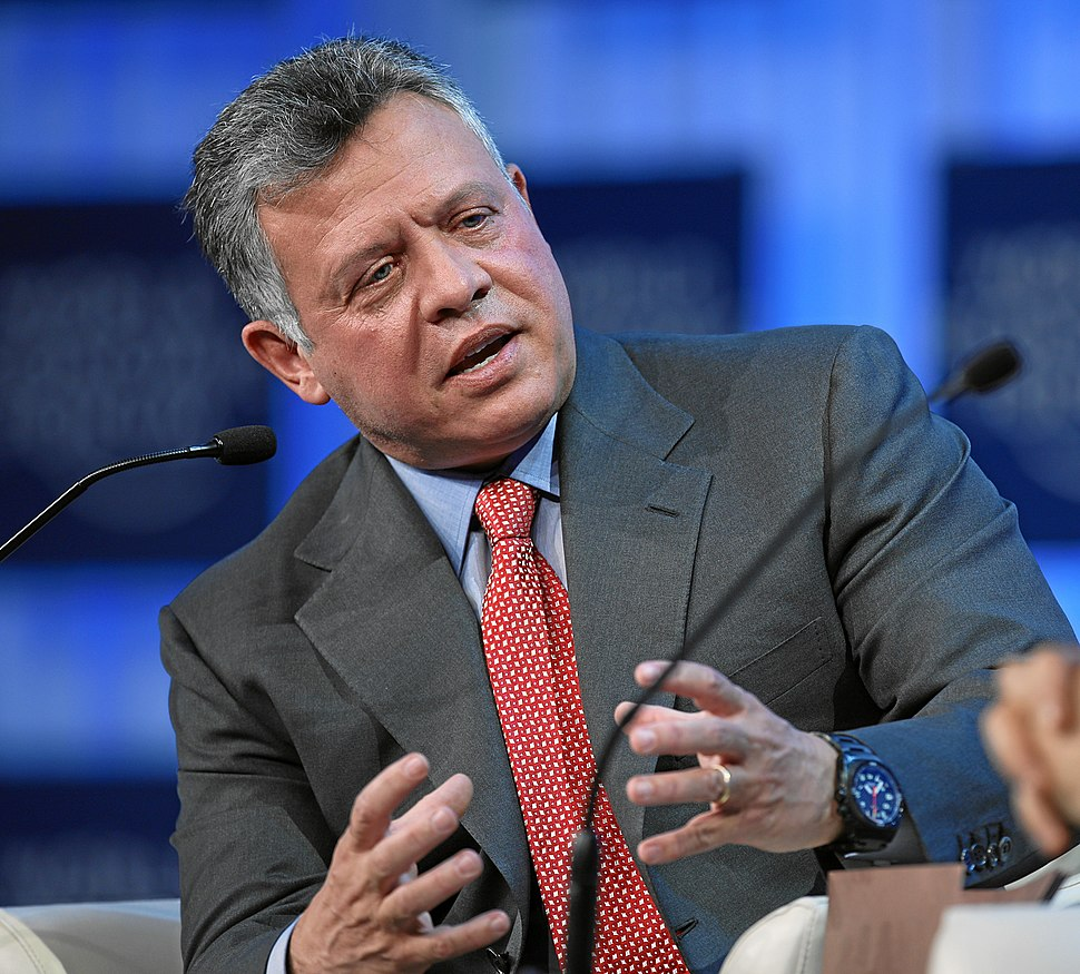 The King of Jordan, 2013