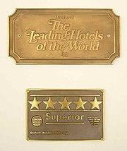 Sterne Hotel Symbol Sonne