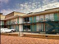 The Lorraine Motel, site of the Martin Luther King assassination and the National Civil Rights Museum..jpg