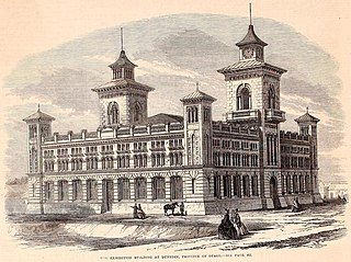 New Zealand Exhibition world fair in Dunedin, New Zealand, 1865