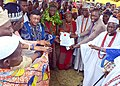The Newly installed Olu of Igboora, Oba Jimoh Olajide Titiloye of the Asoorolu Ruling house Igboora.jpg