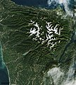 The Olympic National Park has to be one of America's most diverse national park landscapes. Original from NASA. Digitally enhanced by rawpixel. - 45628086344.jpg