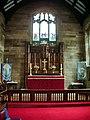 The Parish Church of Broughton St John the Baptist, Altar - geograph.org.uk - 866862.jpg
