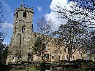 St Peters Church, Burnley Church in Lancashire, England