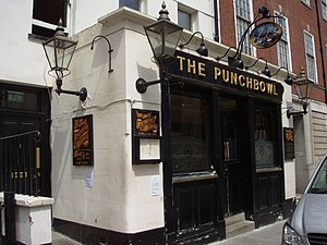 I'm Going to Tell You a Secret - The Punch Bowl pub in Mayfair, London was featured in one of the sequences in the documentary