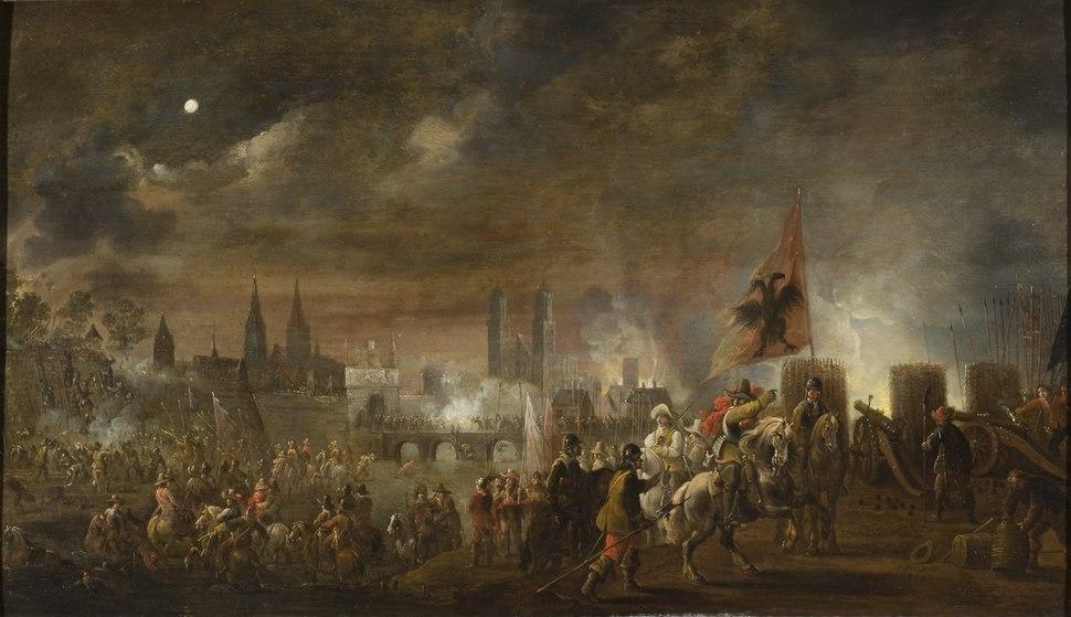 The Siege of Magdeburg (1631) (Peeter Meulener) - Nationalmuseum - 17230