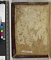 The St Cuthbert Gospel of St John. (formerly known as the Stonyhurst Gospel) is the oldest intact European book. - Upper cover pastedown (Add Ms 89000).jpg