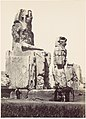 The Statues of Memnon. Plain of Thebes MET DP116335.jpg