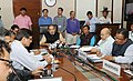 The Union Minister for Agriculture and Farmers Welfare, Shri Radha Mohan Singh addressing the Media on the recently concluded Swachhta Pakhwada and the initiatives taken, in New Delhi.jpg