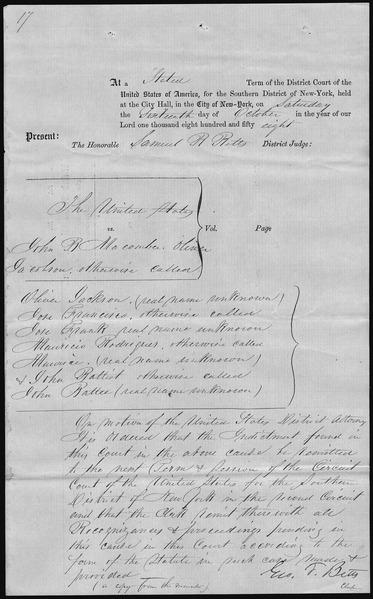 oliver v. united states essay