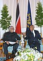 The Vice President, Shri Bhairon Singh Shekhawat meeting with the President of the Republic of Trinidad and Tobago, Prof. George Maxwell Richards, at Port of Spain on November 09, 2006.jpg