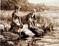 The Washerwomen by Ridgway Knight.jpg