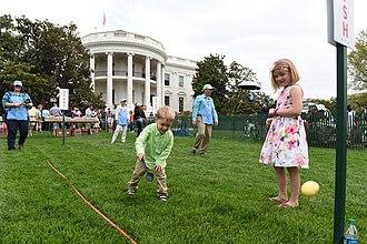Egg rolling - The 2017 White House Easter egg roll