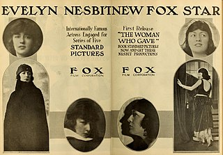 <i>The Woman Who Gave</i> 1918 film by Kenean Buel