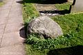 The boulder over the grave of Meg.Shelton. Photograph supplied by and © of Brian Young.jpg