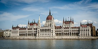 Budapest - Image: The building of the Hungarian Parliament (10890208584)
