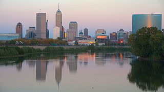 Indianapolis metropolitan area Metropolitan area in Indiana, United States