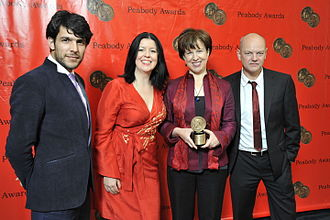 BBC World News America - Tony Jolliffe, Melanie Marshall, Lyse Doucet and Shoaib Sharifi in 2010, at the 69th Annual Peabody Awards for Where Giving Life is a Death Sentence