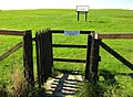 The entrance gate into Rispain Settlement - geograph.org.uk - 1552502.jpg