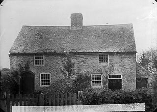 The first Dyffryn chapel (CM), Llandyrnog