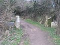 The footpath leading to Madron Well and Chapel - geograph.org.uk - 1185887.jpg