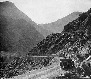 California State Route 120 - Tioga Road, 1921.  Photo by Robert Sterling Yard.