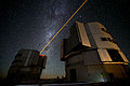 The new PARLA laser in operation at ESO's Paranal Observatory.jpg