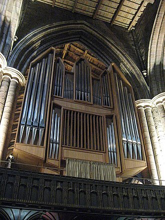 Hexham Abbey - The organ of 1974