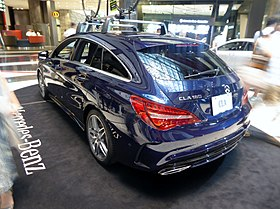 The rearview of Mercedes-Benz CLA 180 Shooting Brake Sports (X117).jpg