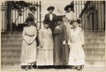 This delegation of officers of the National American Woman Suffrage Association received from . . . - NARA - 533767.tif