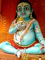 This is a photo taken by me during Janamashtami at Baghbazar Kolkata- 2014-08-24 08-14.jpg