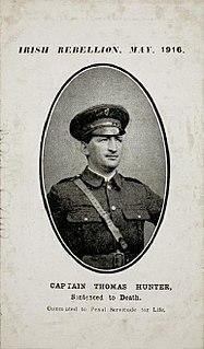 Thomas Hunter (Irish politician) Irish republican and politician